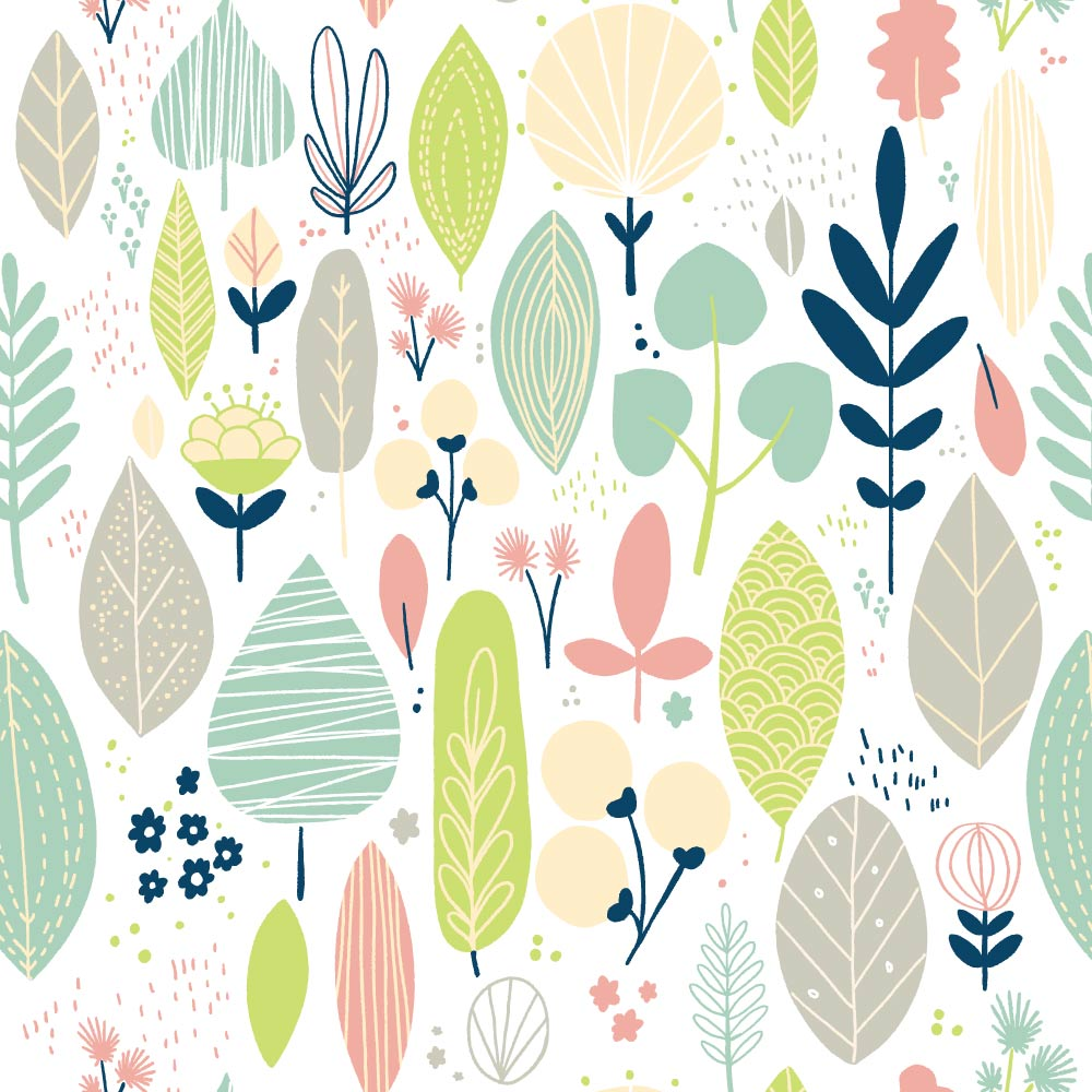 Leaves Pattern Chelen Ecija Illustration