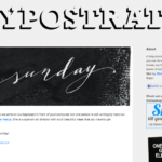 Old forgotten feature – Typostrate