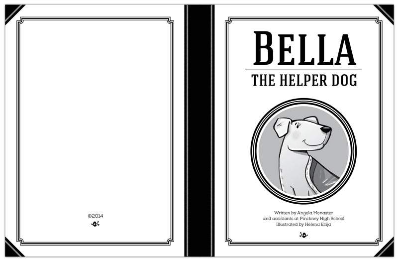 Coloring book to support local veterans and shelter dogs